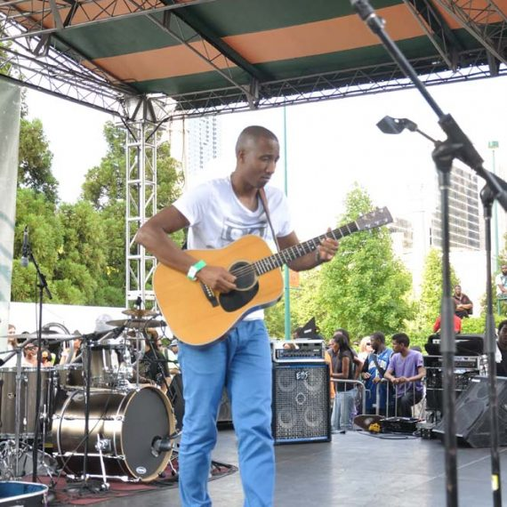 Elliot Holden at Wednesday Wind Down, Centennial Olympic Park