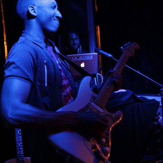 Elliot Holden - BQE Restaurant and Lounge - Urban Guitar Tuesdays (photo by Rudolph Horner)