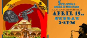 Music In The Park 2015 - Flyer