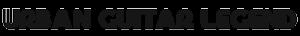 Urban Guitar Legend Logo