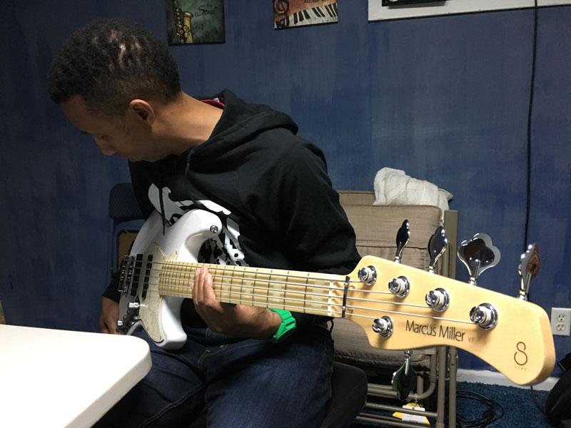 Elliot Holden - Marcus Miller Sadowsky Bass